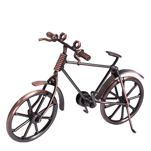 Creative Retro Art Metal Bicycle Model, Artwork Home Room Decorations Gift Zhongpai