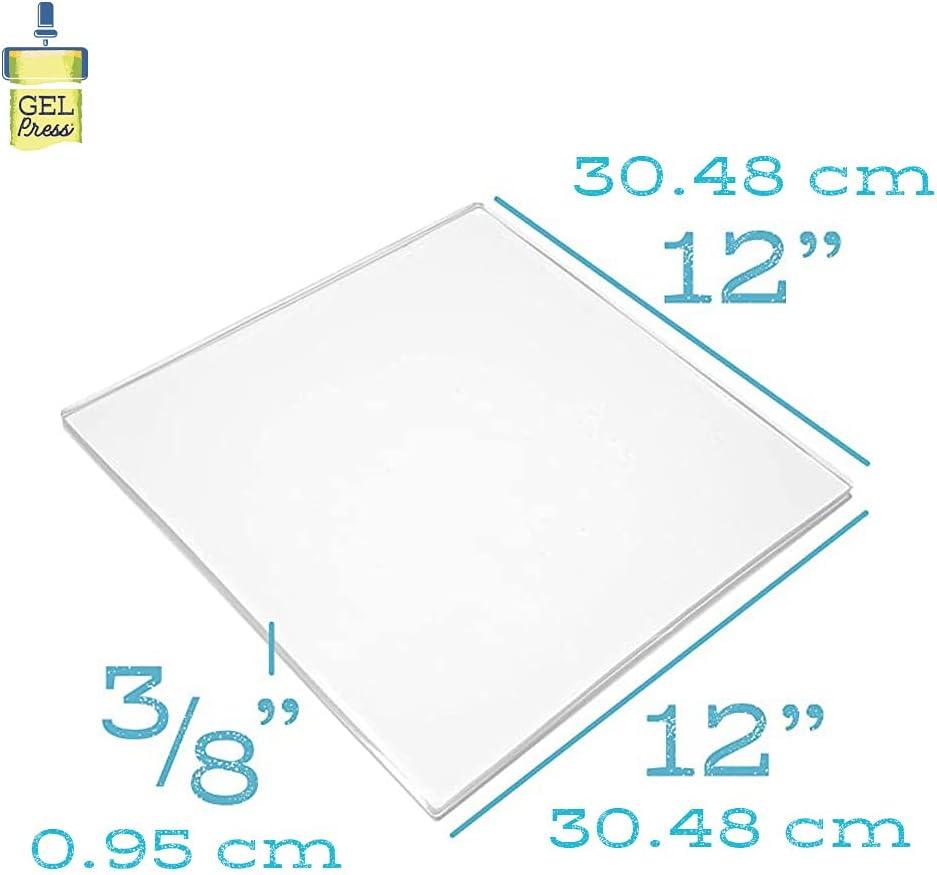 "Gel de presse Gravure Gel plaques par Gel Press 12/"" X 12/"" 300 mm x 300 mm"