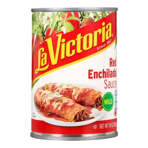 La Victoria Traditional Red Enchilada Sauce Mild, 10 Ounce (Pack of ()