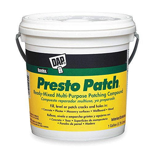 Presto Patch - Ready-Mixed Multi-Purpose Patching Compound, 1 gal. Size, Off White Color, Container Type: Pail - 1 Each
