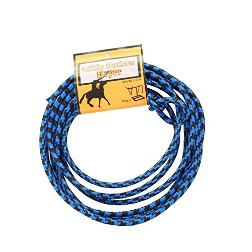 M & F Western Boys' Little Outlaw Roper Blue Lasso Blue One -