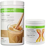 Herbalife Formula 1 Shake Mix-Cafe Latte (780g) + Personalized Protein Powder (Ppp)-360g Unflavoured