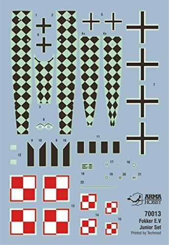 Arma Hobby 1/72 Scale Fokker E.V Junior Set - Airplane Series Plastic Model Kit #70013 4