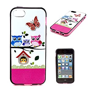 For 4S Case,iPhone 4 Cases,iPhone 4 Covers,Kaseberry-HZ023 Hard Plastic Case Silicone Skin Cover for iphone 4S 4