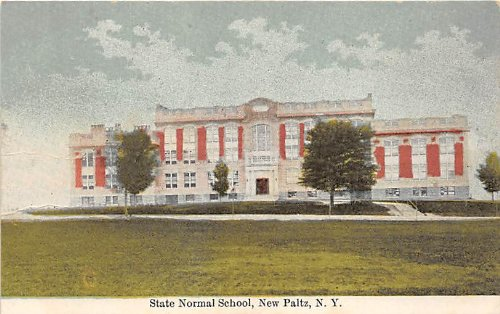 New Platz, New York Postcard (Grad Platz)