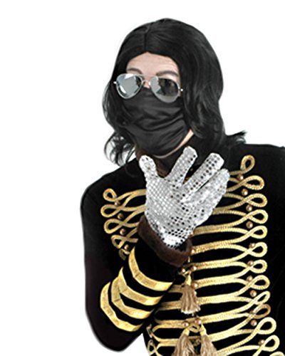 King of Pop Costume Celebrity Costume Musical Theatre Costumes Sizes: One Size]()