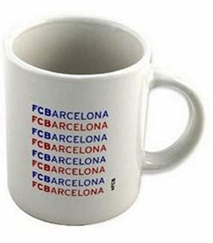 Taza de cerámica del F.C. Barcelona 10 x 8 cm