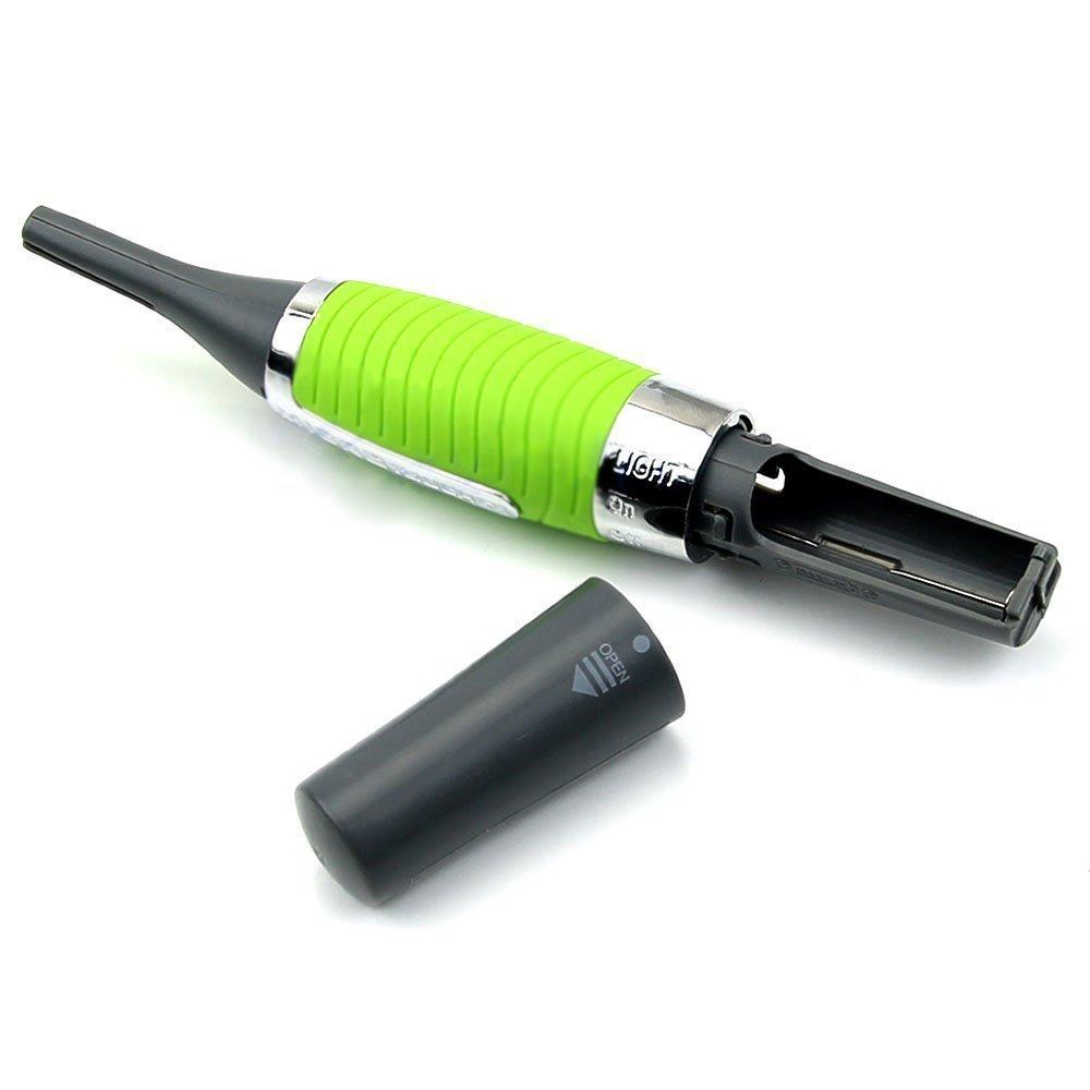 Accueil Multifonction Hommes Remover Tool Moustache Rasoir Cheveux Sourcils Tondeuse Clipper (Vert) (Couleur : Green) Keyi le