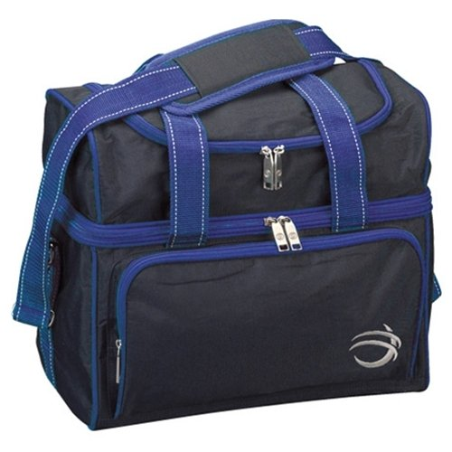 Bowlers Superior Inventory BSI Taxi Single Ball Bowling Bag- Black/Royal () by Bowlers Superior Inventory