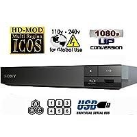 Sony Multi Zone Region Free Blu Ray Player - PAL/NTSC Playback - Zone A B C - Region 1 2 3 4 5 6