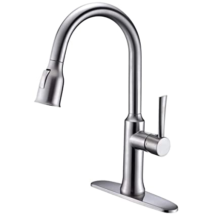 Image Unavailable. Image Not Available For. Color: Kitchen Faucet With Pull  Out Sprayer ...