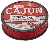 Cajun Line Zebco Cajun Low-Vis Fishing Line Pony 12 Lb/Test Low-Viz Ragin Red, 12 lb