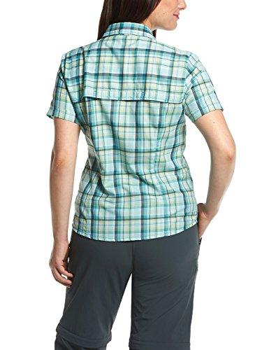 Maier Sports Bluse 1/2 Arm Bente - Camisa / Camiseta para mujer, color multicolor, talla M