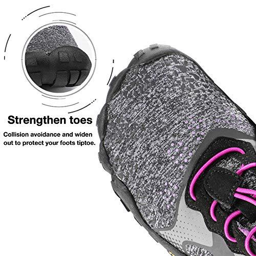 ALEADER hiitave Unisex Minimalist Trail Barefoot Runners Cross Trainers Hiking Shoes 4