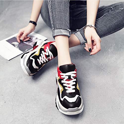 Espadrilles Des Marche Athlétiques Red Chaussures En Hwf Féminines j54ARL