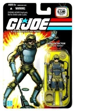 "G.I. JOE Hasbro 3 3/4"" Wave 12 Action Figure Tripwire (With Desert Element)"