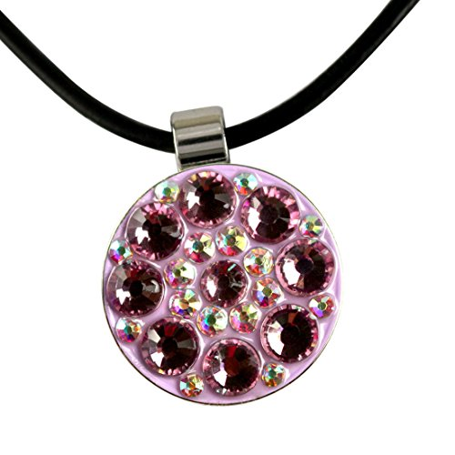 Beautiful Crystal Magnetic Leather Necklace