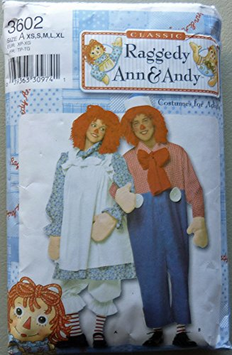 Simpl (Raggedy Andy Costume Pattern)