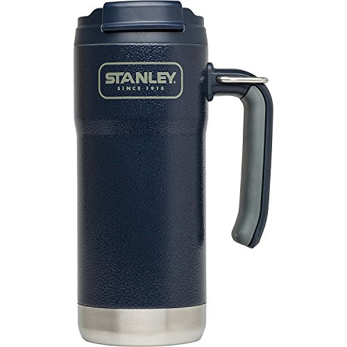 Stanley Adventure Vacuum Insulated Travel Mug, Hammertone Navy, 16 - Travel Mug Navy