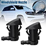 CALAP-STORE - 2Pcs Car Windshied Wiper Washer Spray Nozzle Replacement For Jeep Grand Cherokee 2011 2012 2013 2014 2015