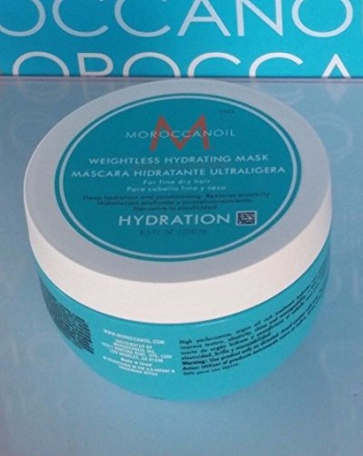 Moroccanoil Weightless Hydrating Mask 8.5oz NEW 100% Authentic (Hydrating Moroccanoil Mask)