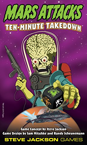 Mars Attacks Ten Minute Take Down Action Game