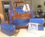 Samantha Brown Croco-Embossed Underseater – ELECTRIC BLUE – *SOLD OUT ON HSN*, Bags Central