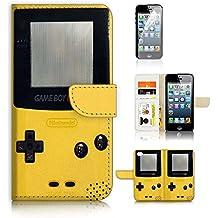 iPhone 55S/iPhone se Flip Wallet Case Cover & Protector de visualización Bundle. a20276Video Game