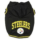 Pittsburgh Steelers Pet Hoodie Sweatshirt - Large