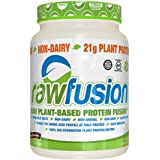 SAN Nutrition RawFusion Plant Protein Powder, Natural Chocolate, 2 Pounds