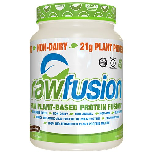 (SAN Nutrition RawFusion Plant Protein Powder, Natural Chocolate, 2 Pounds)