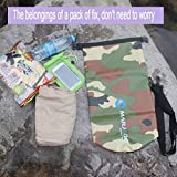 YTYC Single Shoulder Camouflage Capacity 200L Waterproof Bag Upstream Package