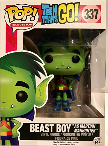 [POP! Television: Teen Titans GO: Beast Boy as Martian Manhunter TRU Exclusive] (Teen Titan Robin Costumes)