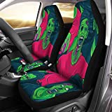 walking dead car seat covers - Semtomn Car Seat Covers Colorful Pattern Zombie Walking Out Halloween Fun Retro Group Set of 2 Auto Accessories Protectors Car Decor Universal Fit for Car Truck SUV