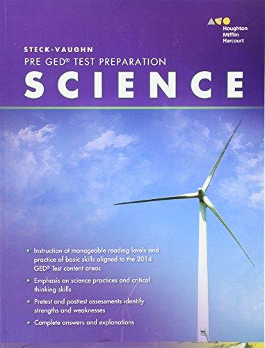 Steck-Vaughn Pre-GED: 2014 Science