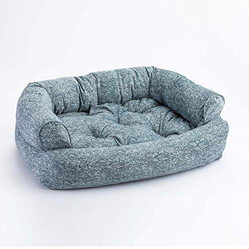 Strange Snoozer Pet Products Overstuffed Luxury Dog Sofa Show Dog Collection Small Palmer Indigo Download Free Architecture Designs Fluibritishbridgeorg