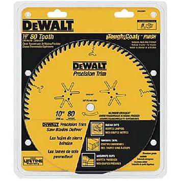 Dewalt dw3218pt 10 inch 80 tooth atb crosscutting saw blade with 5 dewalt dw3218pt 10 inch 80 tooth atb crosscutting saw blade with 58 greentooth Gallery