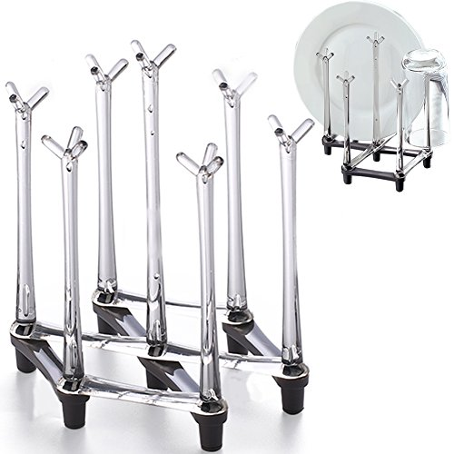 Retractable Countertop Drying Rack Stand, Drinking Cup Dry
