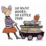 Tote Bag – So Many Books; So Little Time (girl) by Edward Gorey (Natural Canvas), Bags Central