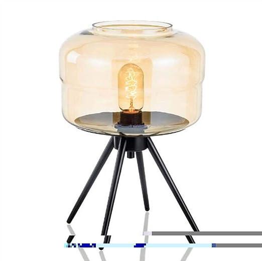 CRYGD Lámpara de Escritorio de Vidrio Nordic Creative Lámparas de ...
