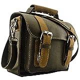 Carver & Fast Compact Messenger Bag (Everglade Green & Yukon Gold)