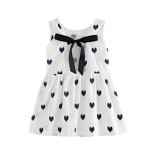 08dd14d5f Amazon.com  Nevera 100% Soft Cotton Solid Color Toddler Girls Summer ...