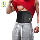 Just Fitter Premium Waist Trainer & Trimmer Belt For Men & Women. More Fully Adjustable Than Other Waist Slimming Sauna Belts. Provides Best Support For Lower Back & Lumbar. Results Guaranteed.