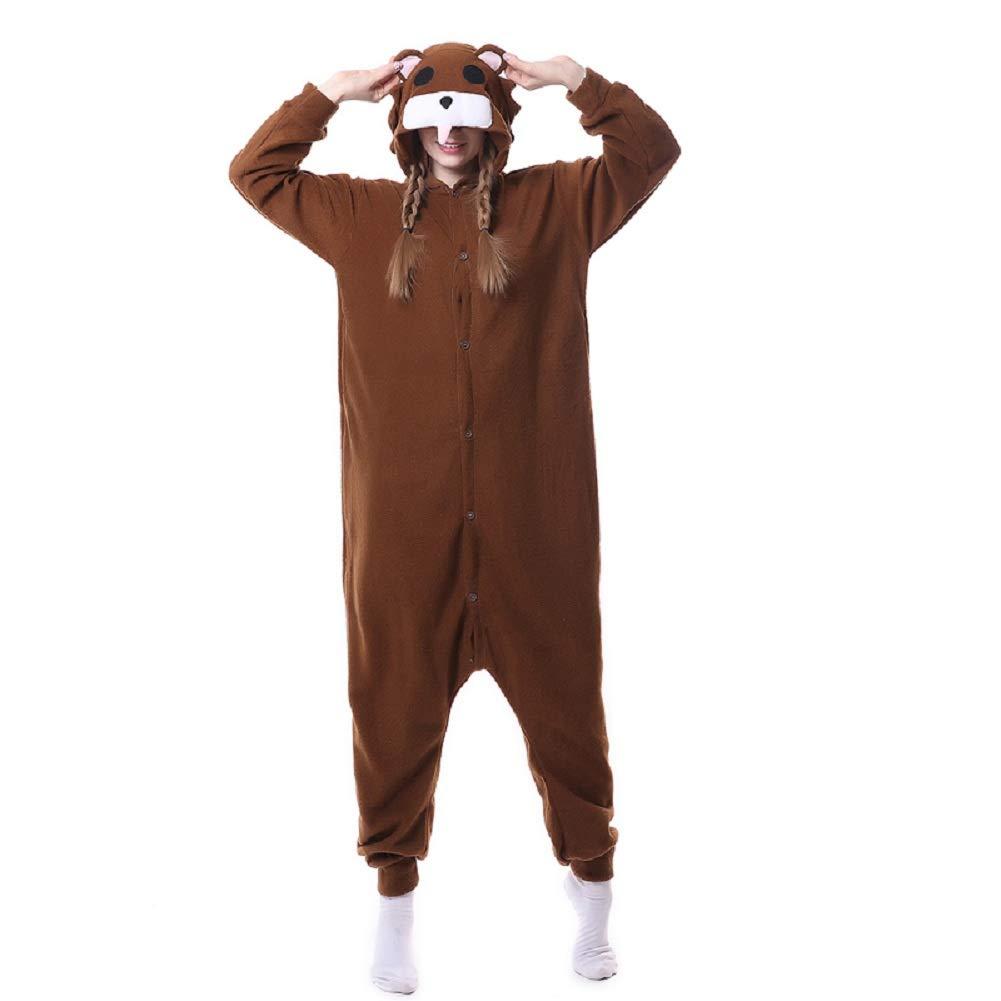 c669cfacc6 Amazon.com  Animal Costume Pajamas Unisex Unicorn Cosplay Onesie Adult  Women Men Halloween  Clothing