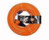 ProLock 12 Gauge 3 Conductor SJTW 100 Foot Extension Cord With Lighted Ends - Orange