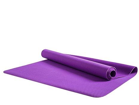 HCJYJD GUORONG Esteras de Yoga, Antideslizante Manta ...
