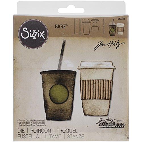 Sizzix 660232 Bigz Die Fresh Brewed by Tim Holtz
