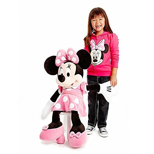 (Giant Pink Disney Minnie Mouse Plush Toy-Large 30