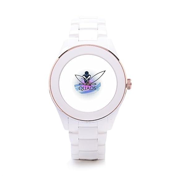 Relojes de cerámica relojes Marcas Fundamentos Quads barato: Amazon.es: Relojes