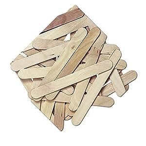 """Durable, fuerte y no Tóxico {6""""x 0.75"""",} 100Bulk Pack de Jumbo y amplia multiusos Craft de incienso para DIY, alimentos, belleza y más, hecho de madera de abedul Báltico 3W/Estándar con estilo clásico {marrón color}"""